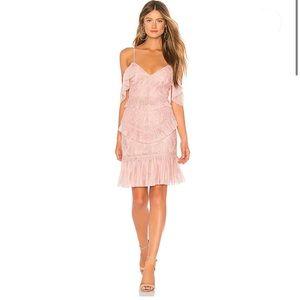 Bardot Valorie Dress in Dusty Pink US 6/S